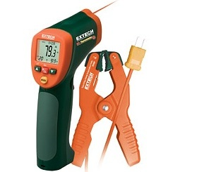 Extech 425xx típusú infrahőmérő család