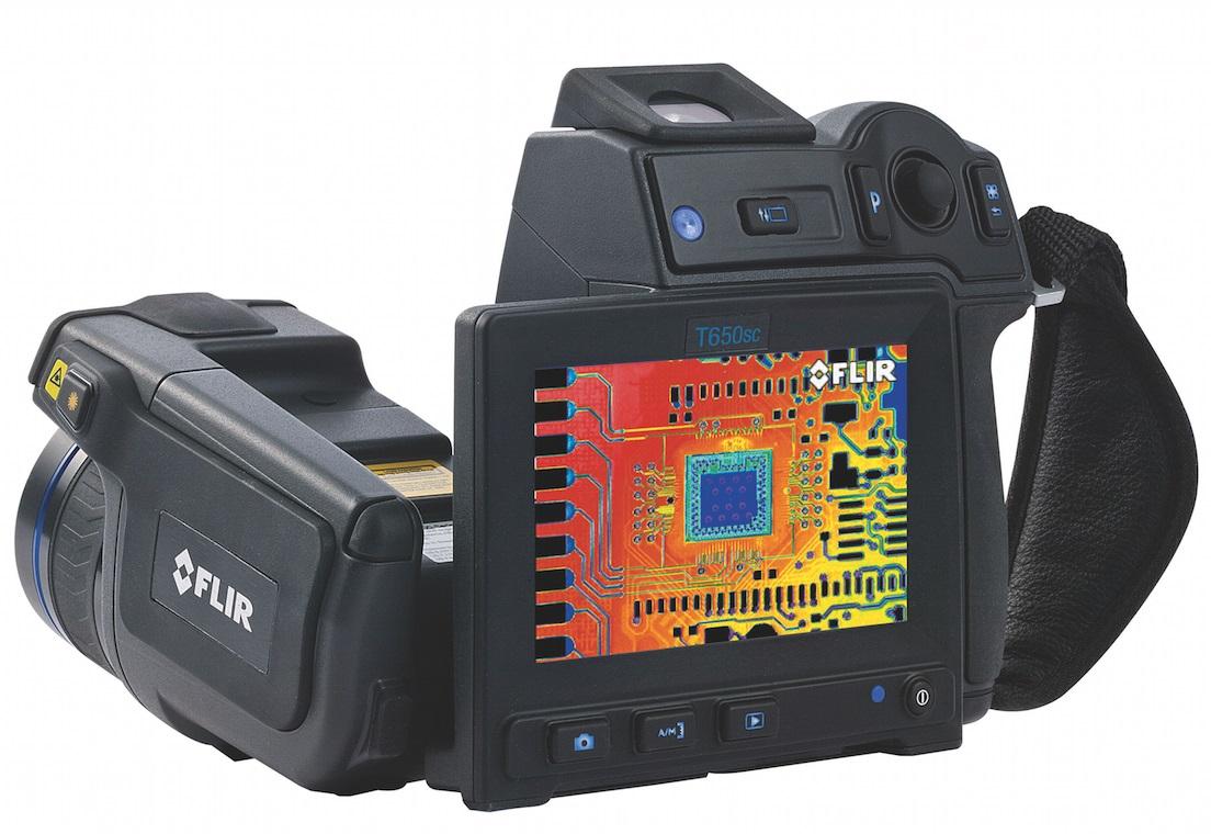FLIR T630sc/T650sc infra hőkamerák