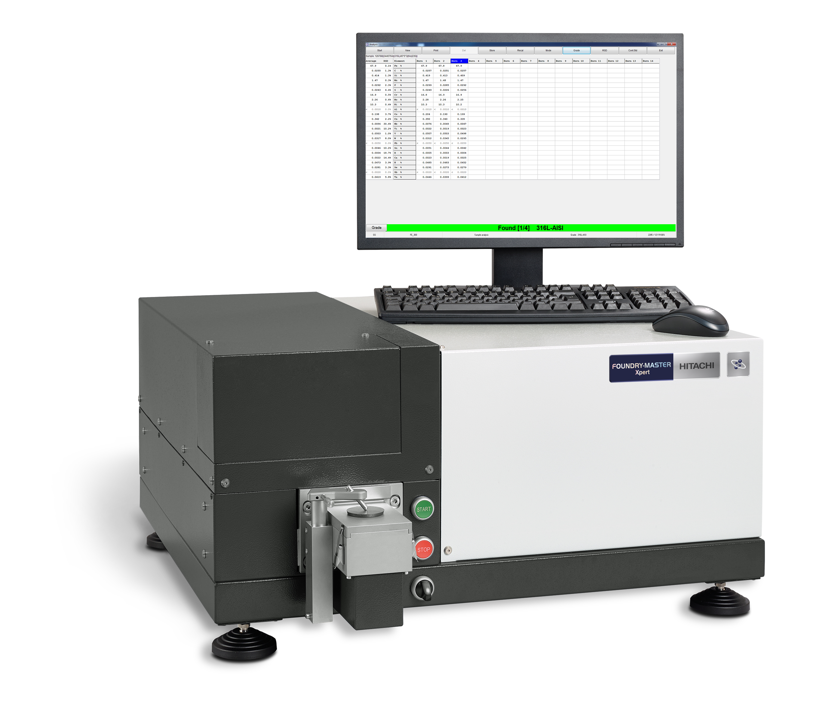 FOUNDRY-MASTER Xpert laboratóriumi OES spektrométer