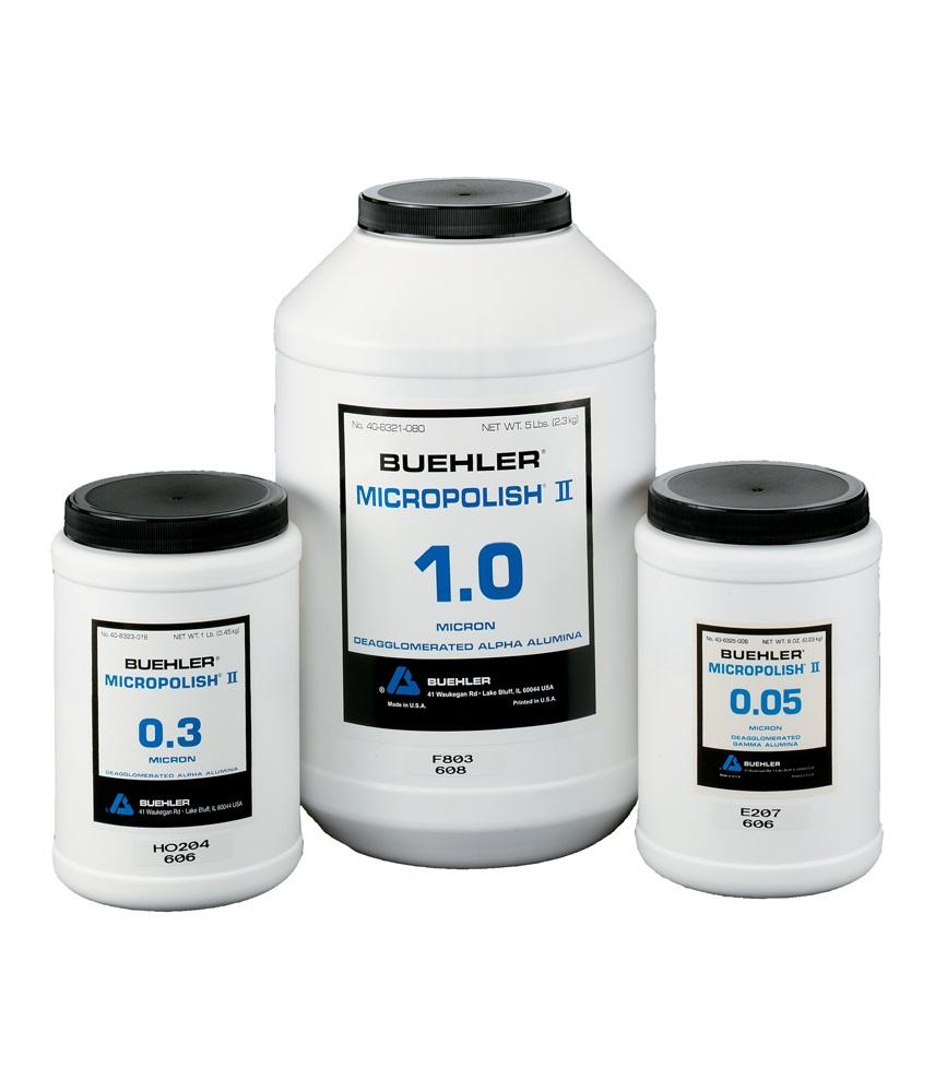 MicroPolish alumínium-oxid polírporok