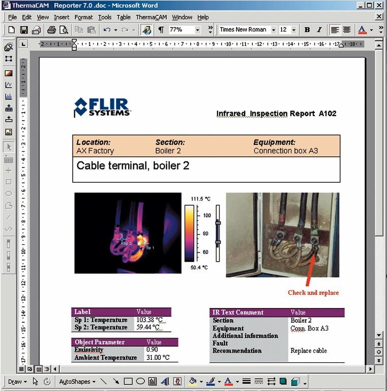 Termográfia – Hőkép kiértékelő professzionális szoftver
