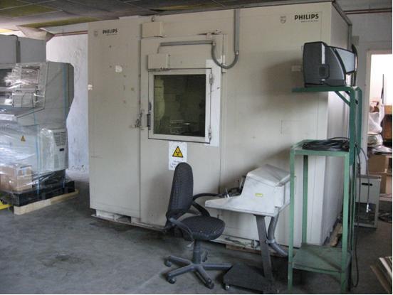 MU21 használt röntgen kabin