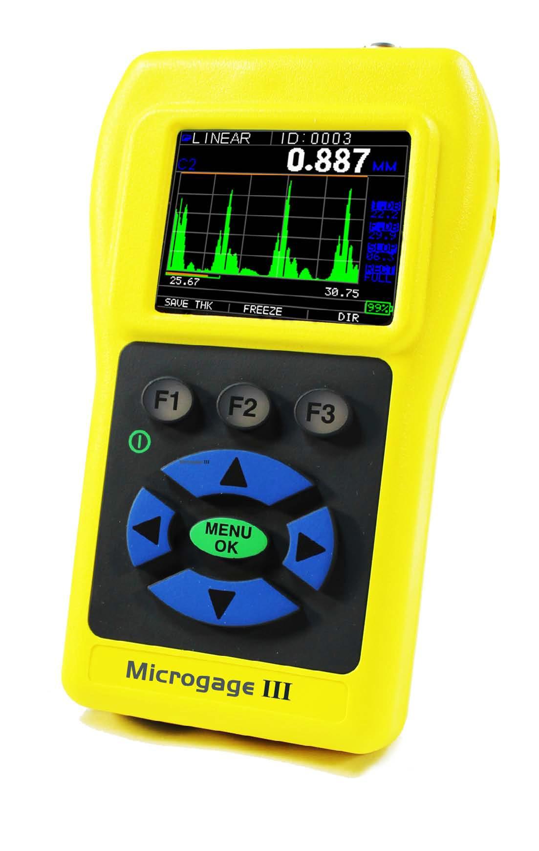 Sonatest Microgage III precíziós falvastagságmérő széria