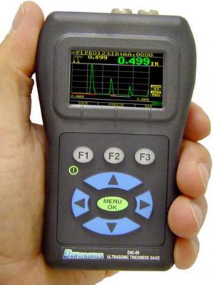 Danatronics EHC 09-C ultrahangos falvastagságmérő színes kijelzés