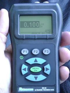 Danatronics EHC 09A UH alapszintű falvastagságmérő
