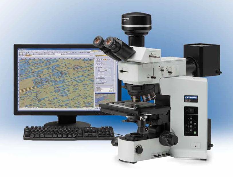 Olympus BX51 metallográfiai mikroszkóp