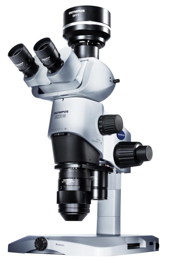 Olympus SZX16 sztereo zoom kutatómikroszkóp
