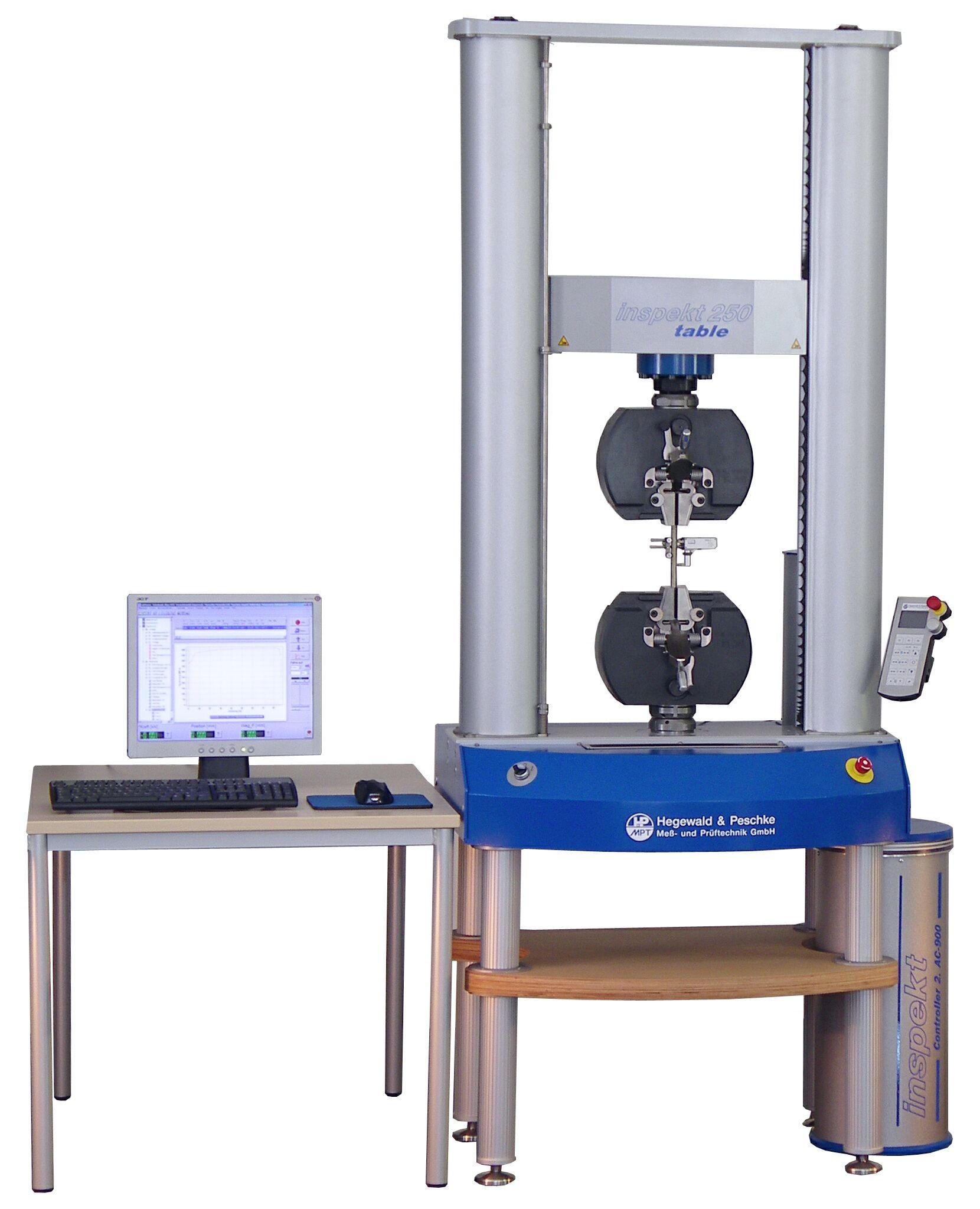 Inspekt table 10-20-50-100-250 kN asztali szakítógépek
