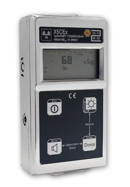 Graetz X5DEx sugárzásmérő műszer