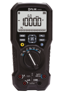 FLIR DM93 valós RMS ipari multiméter