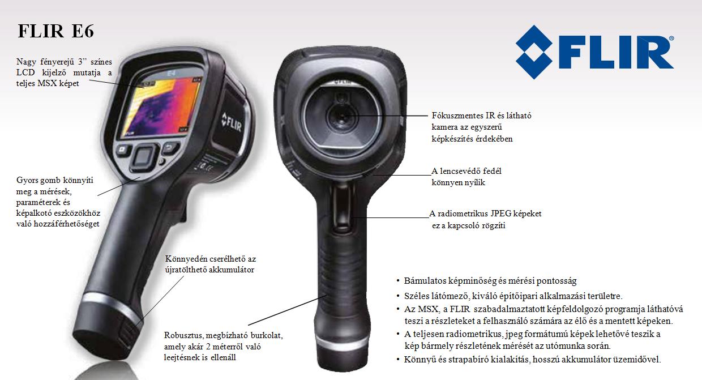 Infrakamera, termokamera