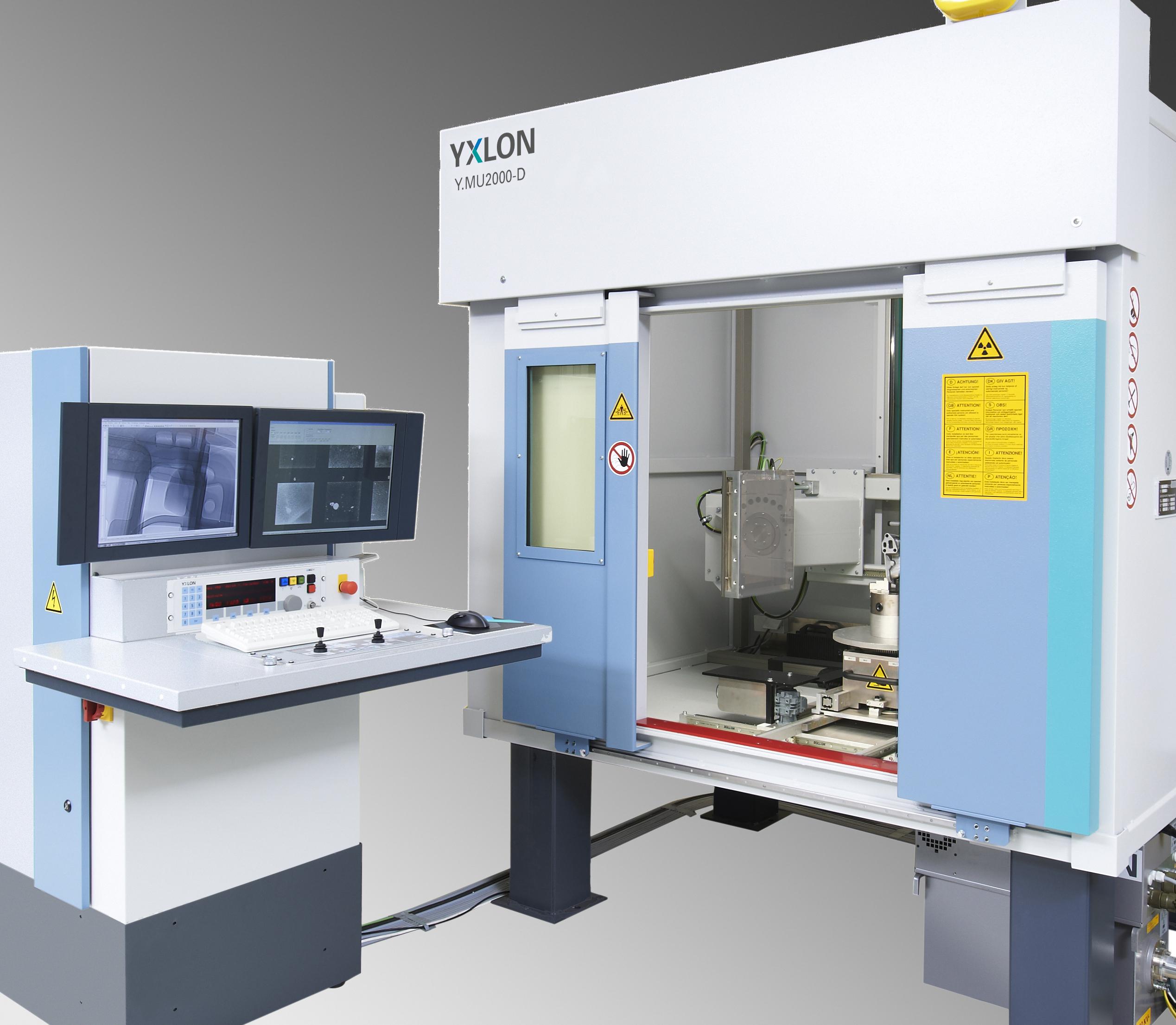 MU 2000-D PCNC automatikus röntgenkabin CT opcióval