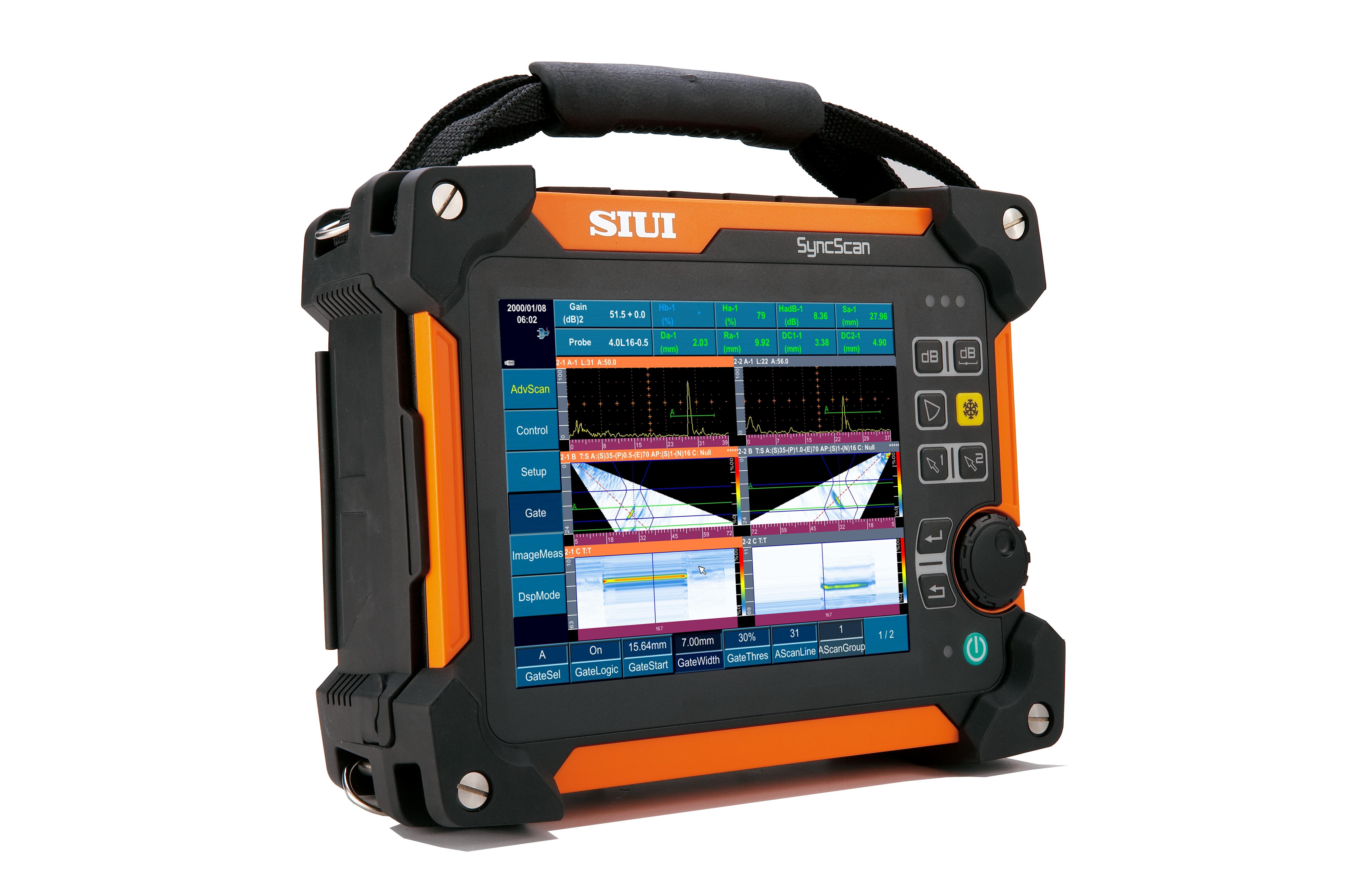SIUI ultrahangos vizsgálóeszközök – hibakeresők, falmérők