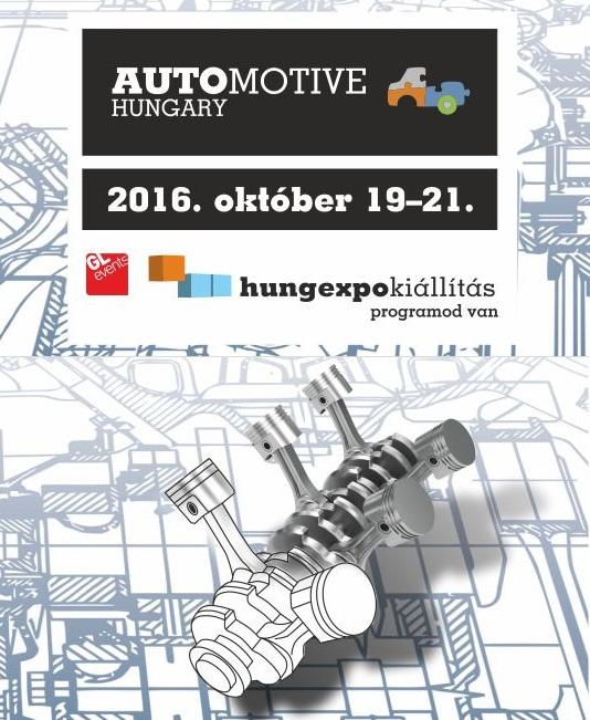 Találkozzunk az Automotive Hungary Kiállításon!