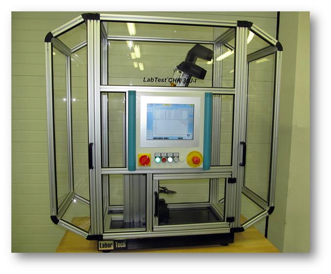 LabTest CHK 50J digitálisan vezérelt Charpy-féle ingás ütőgép