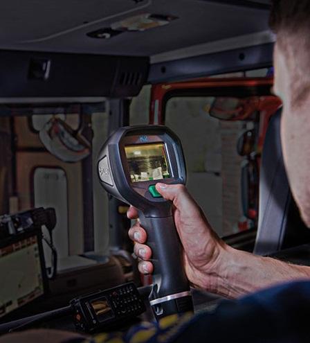 Hőkamerás vizsgálat a busztűz megelőzése érdekében