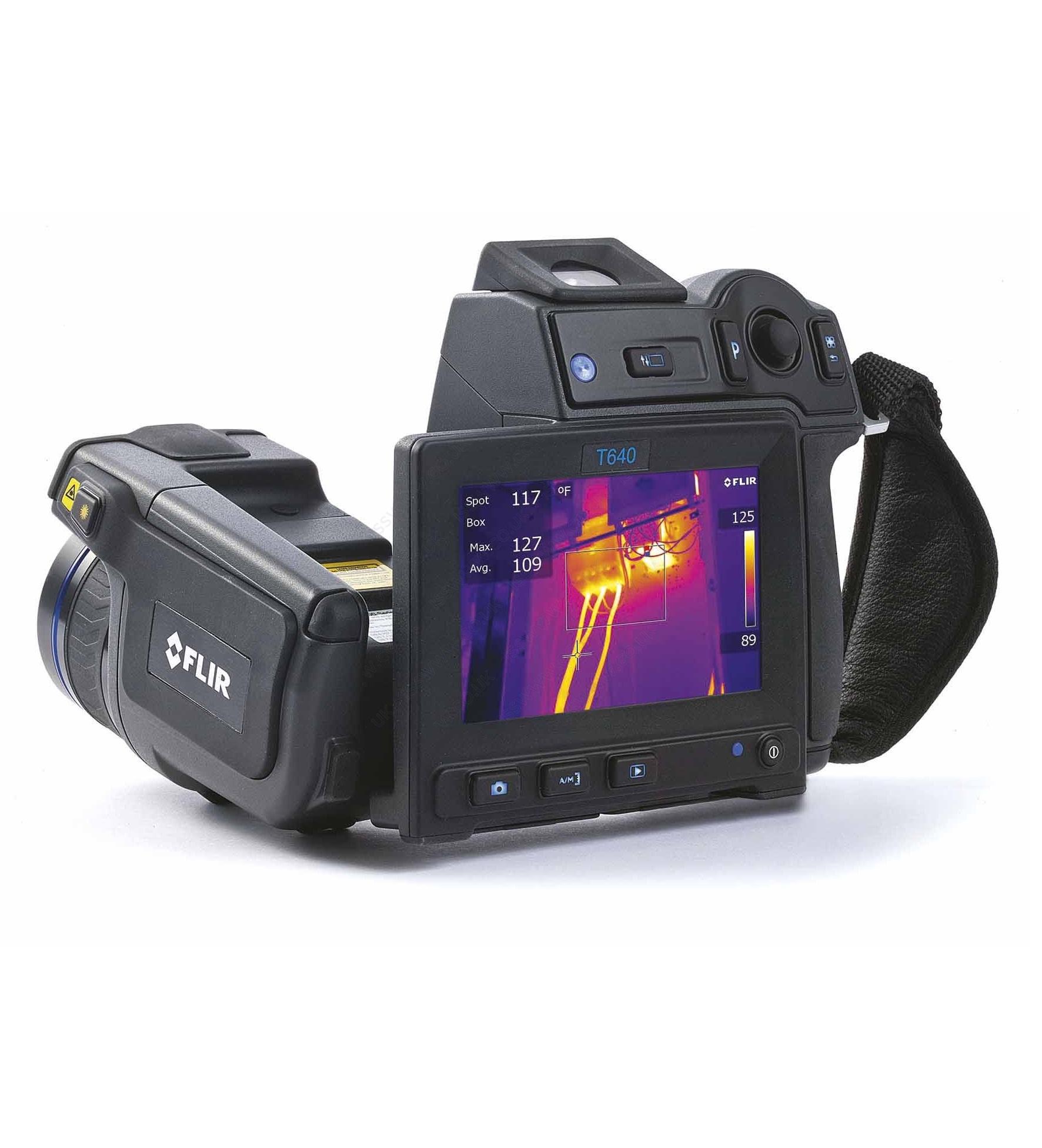 FLIR T620/T640 infra hőkamerák