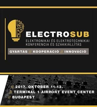ElectroSub elektronikai szakkiállítás és konferencia