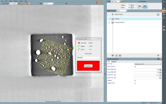 Termikus és mechanikai felületek vizsgálata három-dimenziós CT felvételen