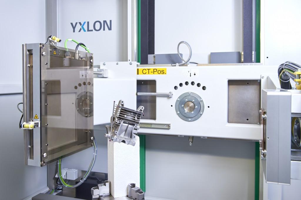 MU 2000-D röntgenkabin CT opcióval méréstechnikai alkalmazásra.