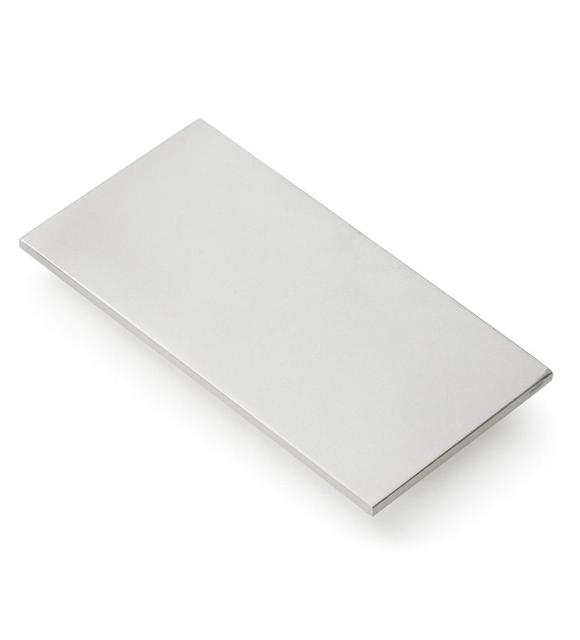 Rozsdamentes acél teszt blokk