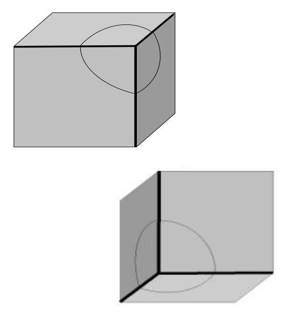 Vákuumkeret belső és külső sarokvarrat vizsgálatához