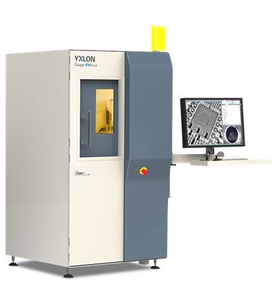 YXLON Cougar röntgenátvilágító kabin CT opcióval