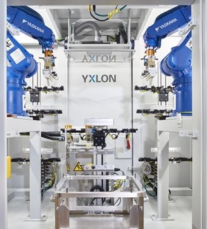 MU56/59 gyártósorba építhető automata röntgenkabin