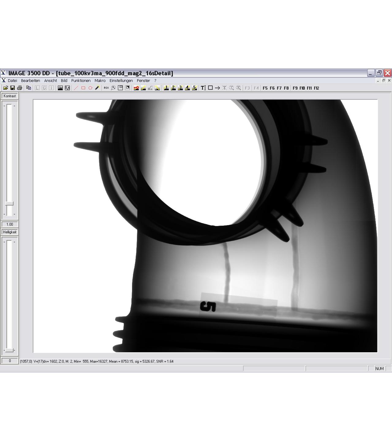YXLON Image x500 képfeldolgozó szoftverek
