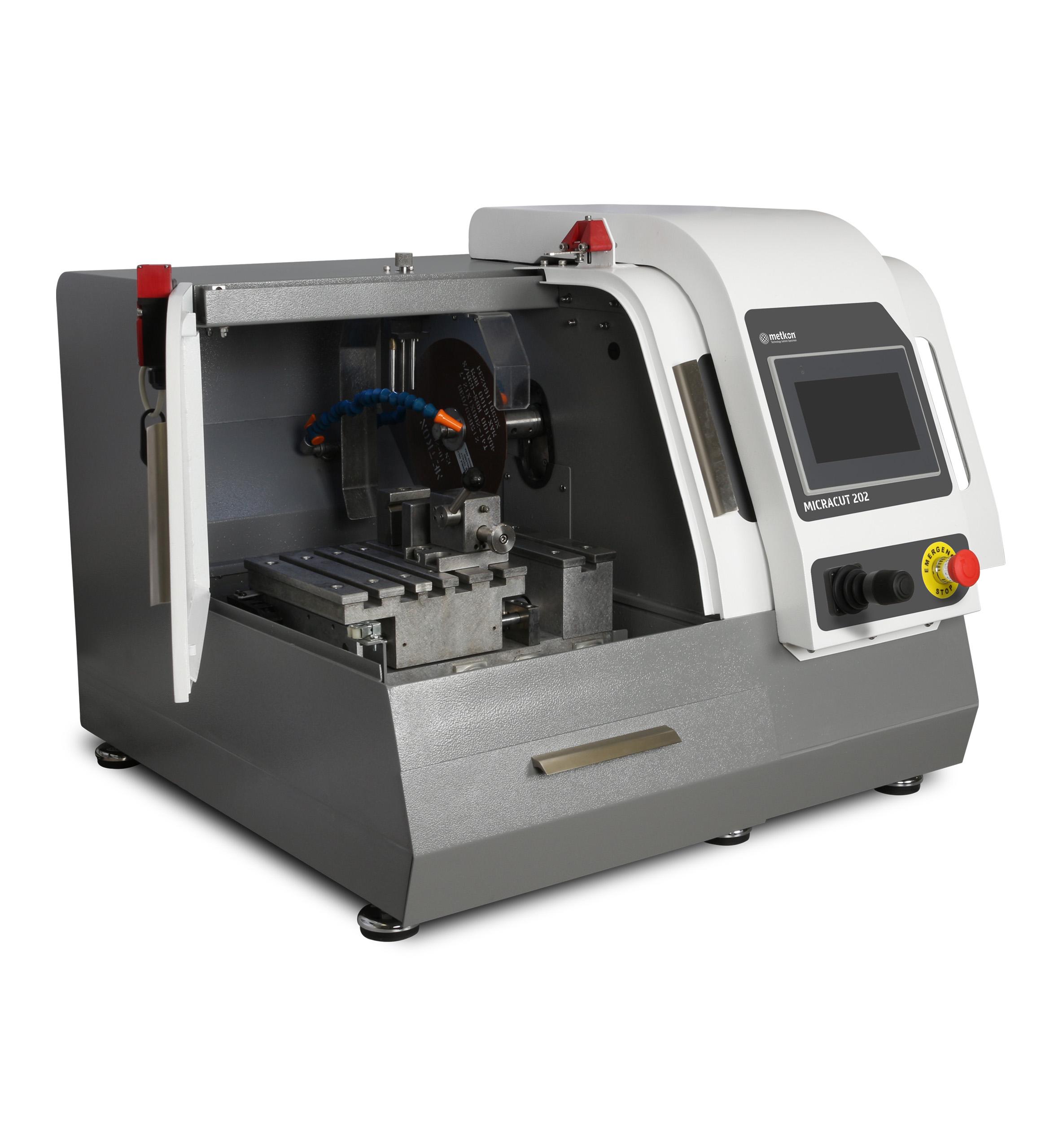 MicraCut 202 automata, nagy sebességű, precíziós vágógép