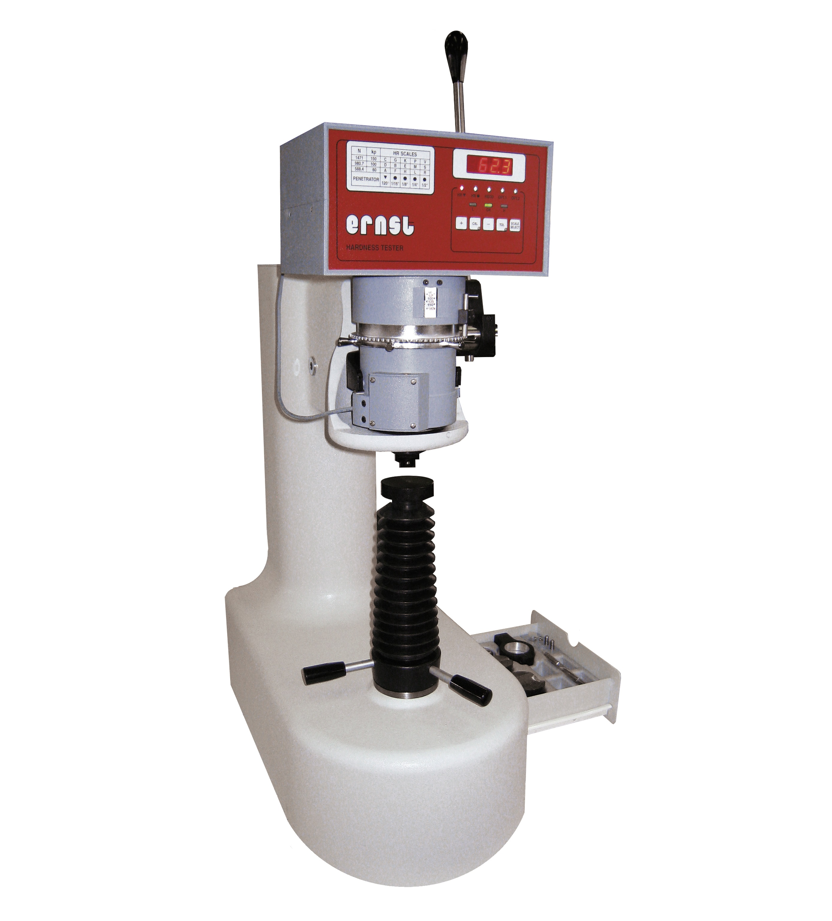 Ernst AT130D keménységmérő gép