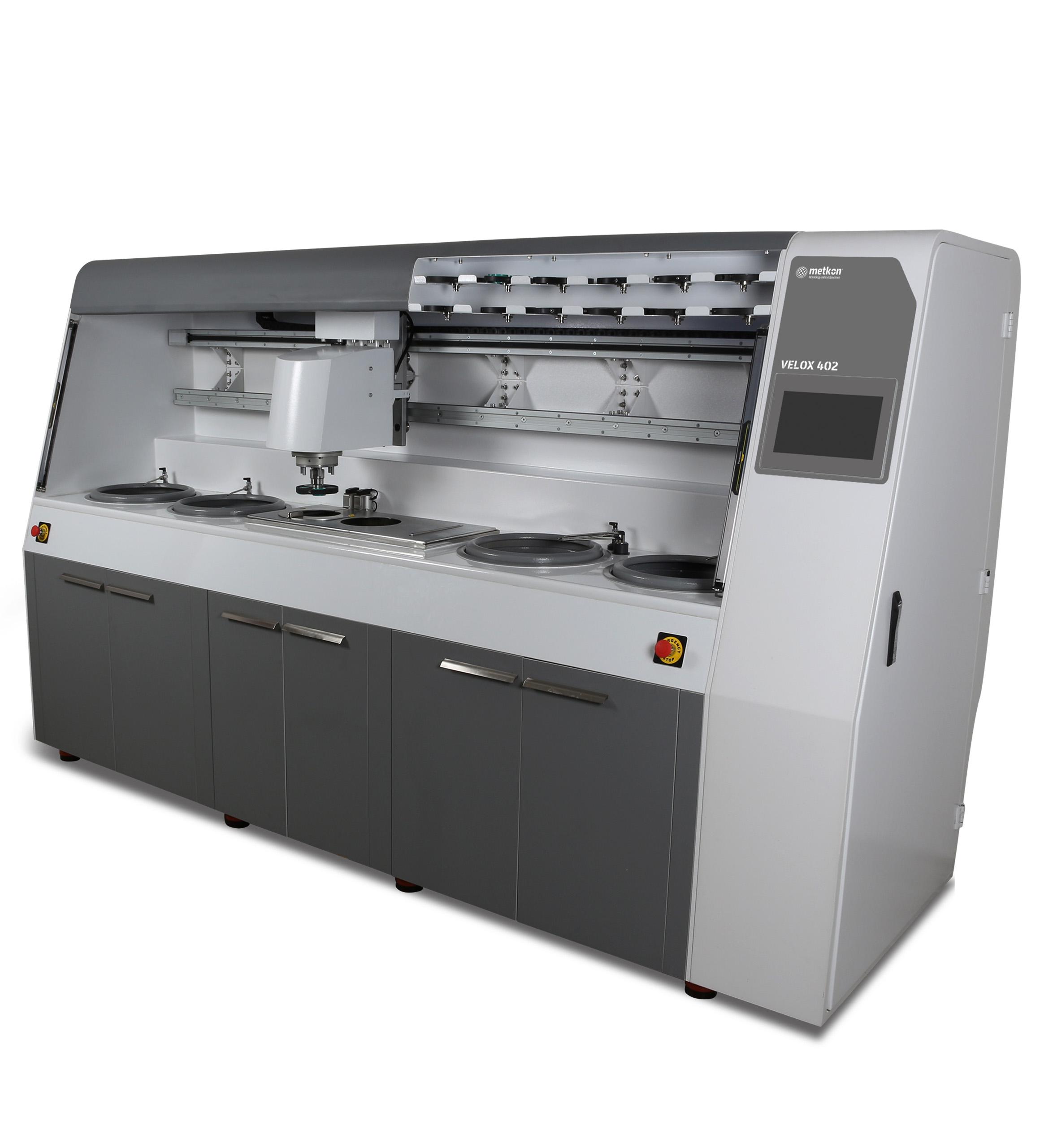 Velox 402 full automata programozható csiszoló-polírozó állomás