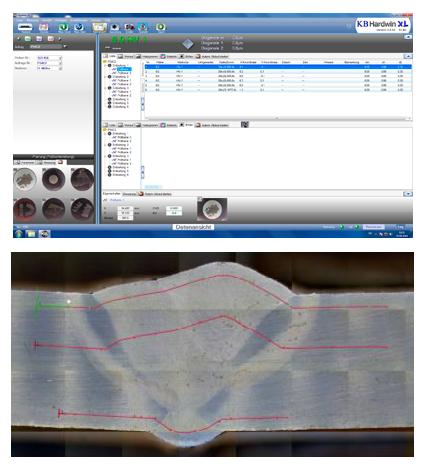 KB Hardwin XL keménységmérési szoftver
