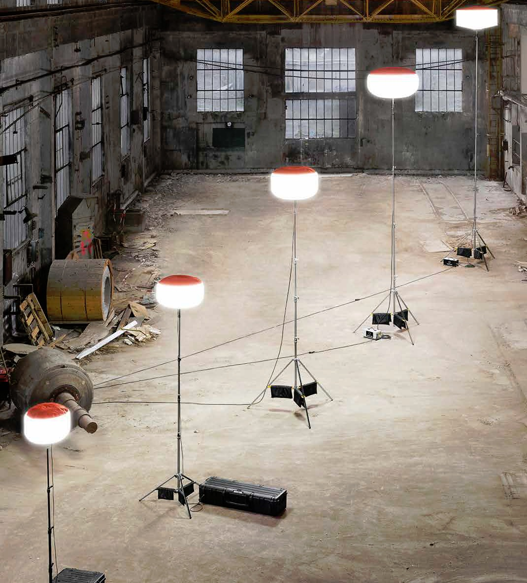 Airstar Sirocco fényballonok biztonságtechnikai célra