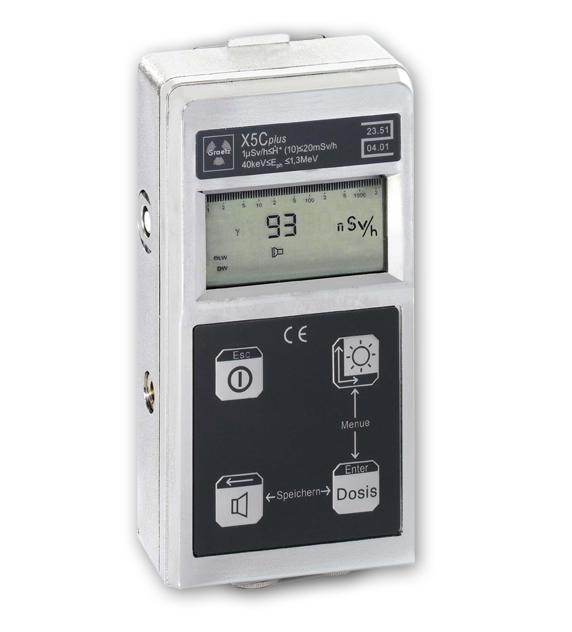 Graetz X5Cplus sugárzásmérő műszer