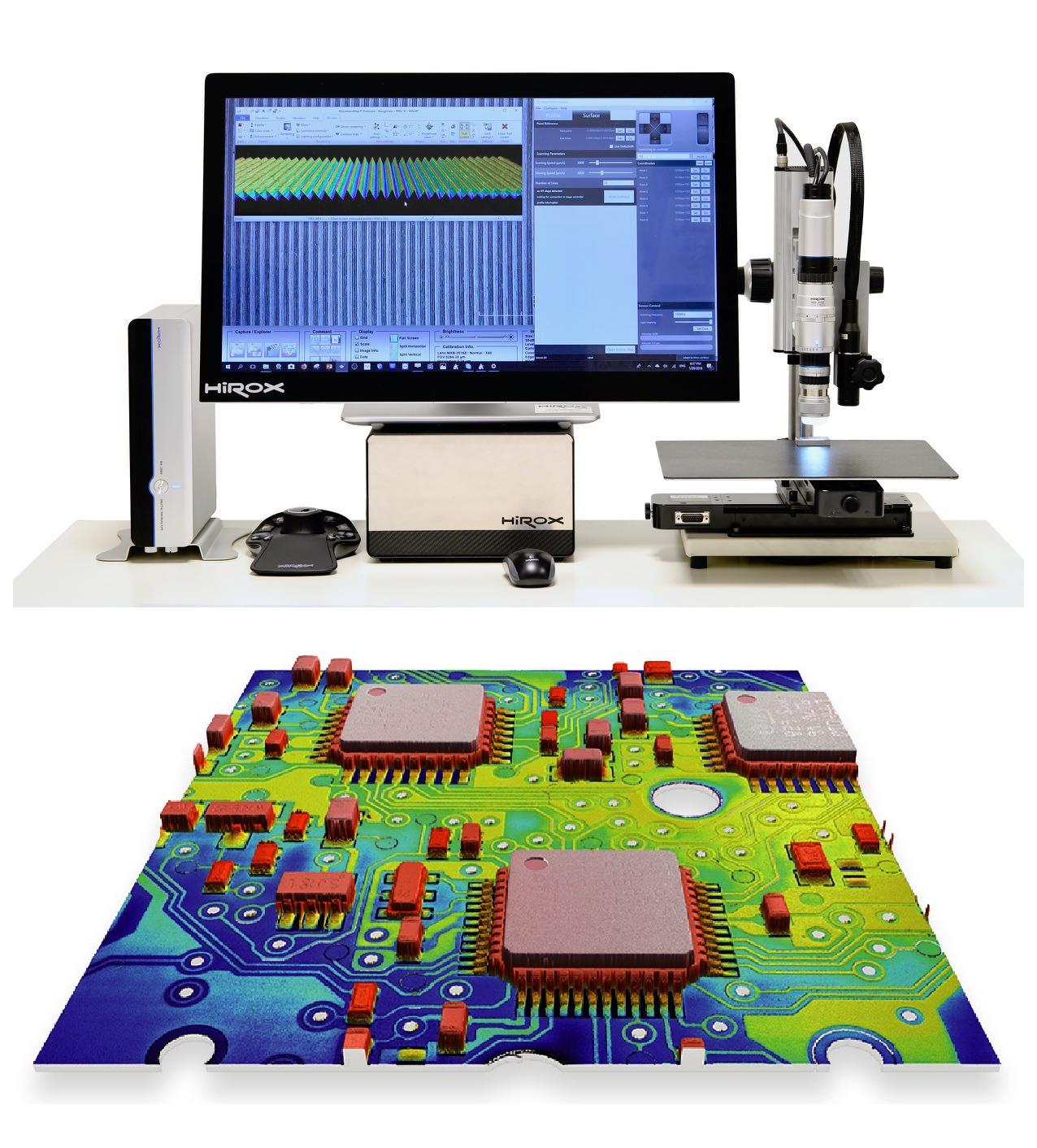 Hirox NPS – Nano Point Scanner
